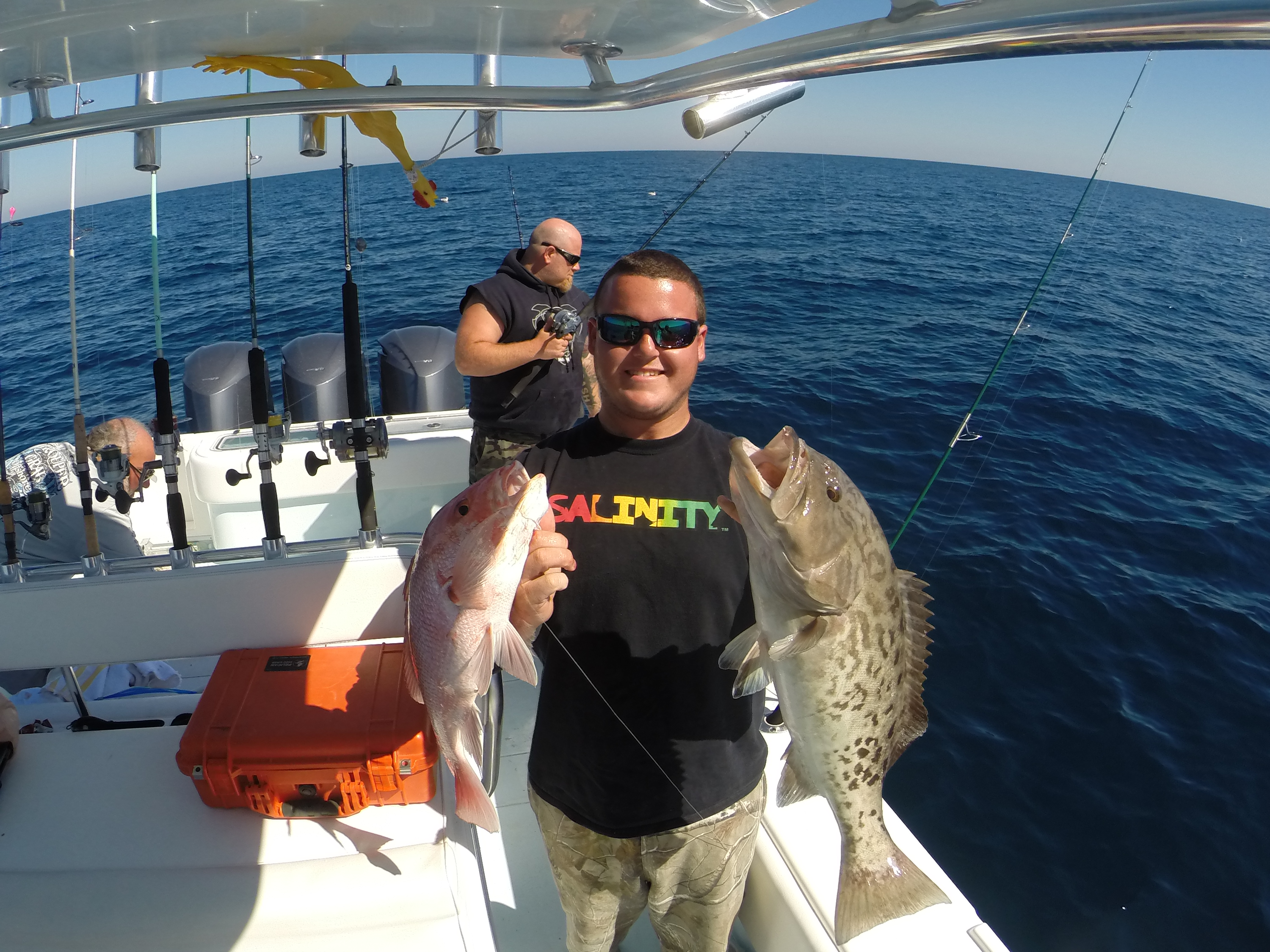 Clearwater charter fishing fl deep sea fishing trips for Fishing charters clearwater fl