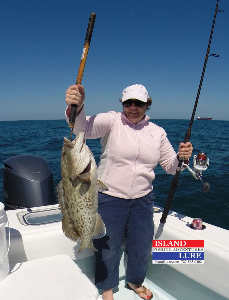 Deep sea fishing report st petersburg fl march 16 2014 for St pete fishing report
