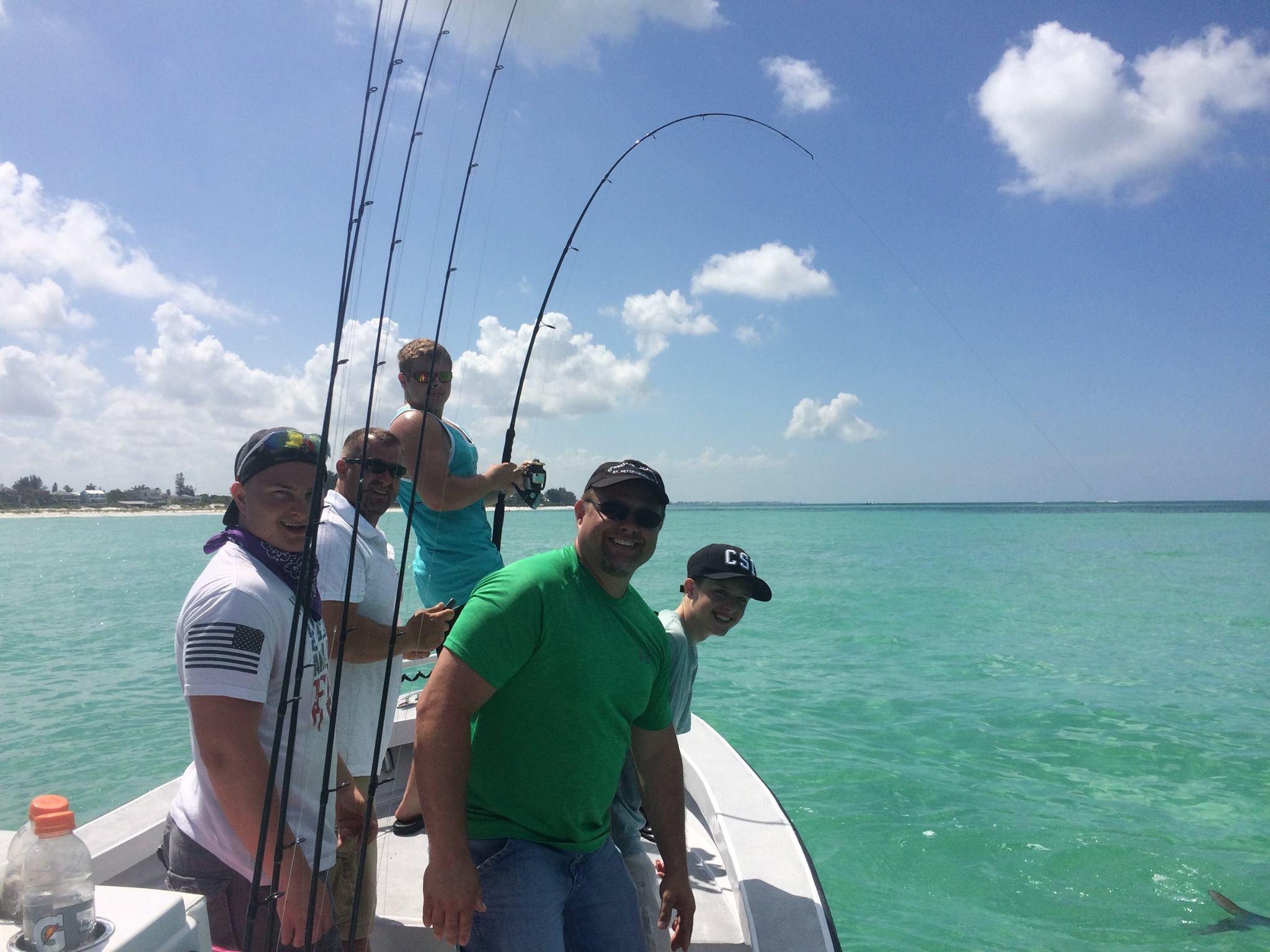 Capt gene maxwell fishing charters st pete beach for Tampa deep sea fishing