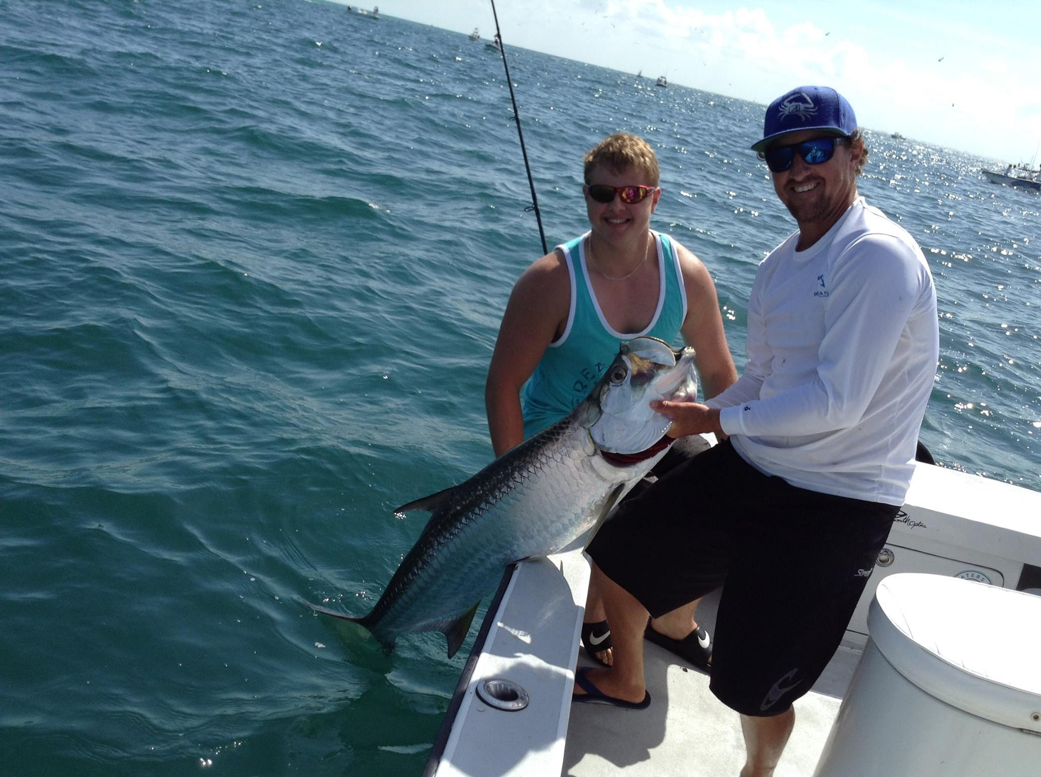 Tarpon fishing charters fishing guides tampa bay fl for Tarpon fishing charters