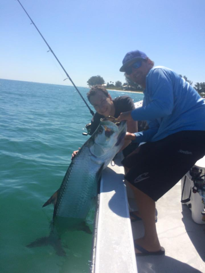 Capt gene maxwell fishing charters st pete beach for Tarpon fishing charters