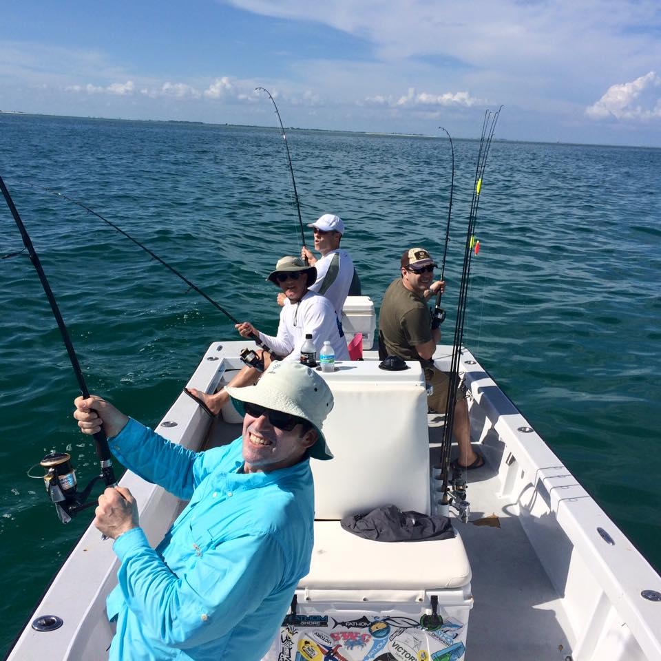 Inshore tampa bay tarpon fishing fishing charters st for Fishing tampa bay