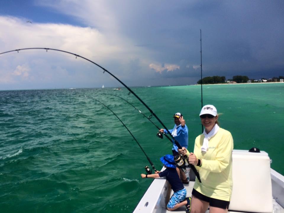 Tampa bay tarpon fishing fishing charters st pete beach for Fishing tampa bay