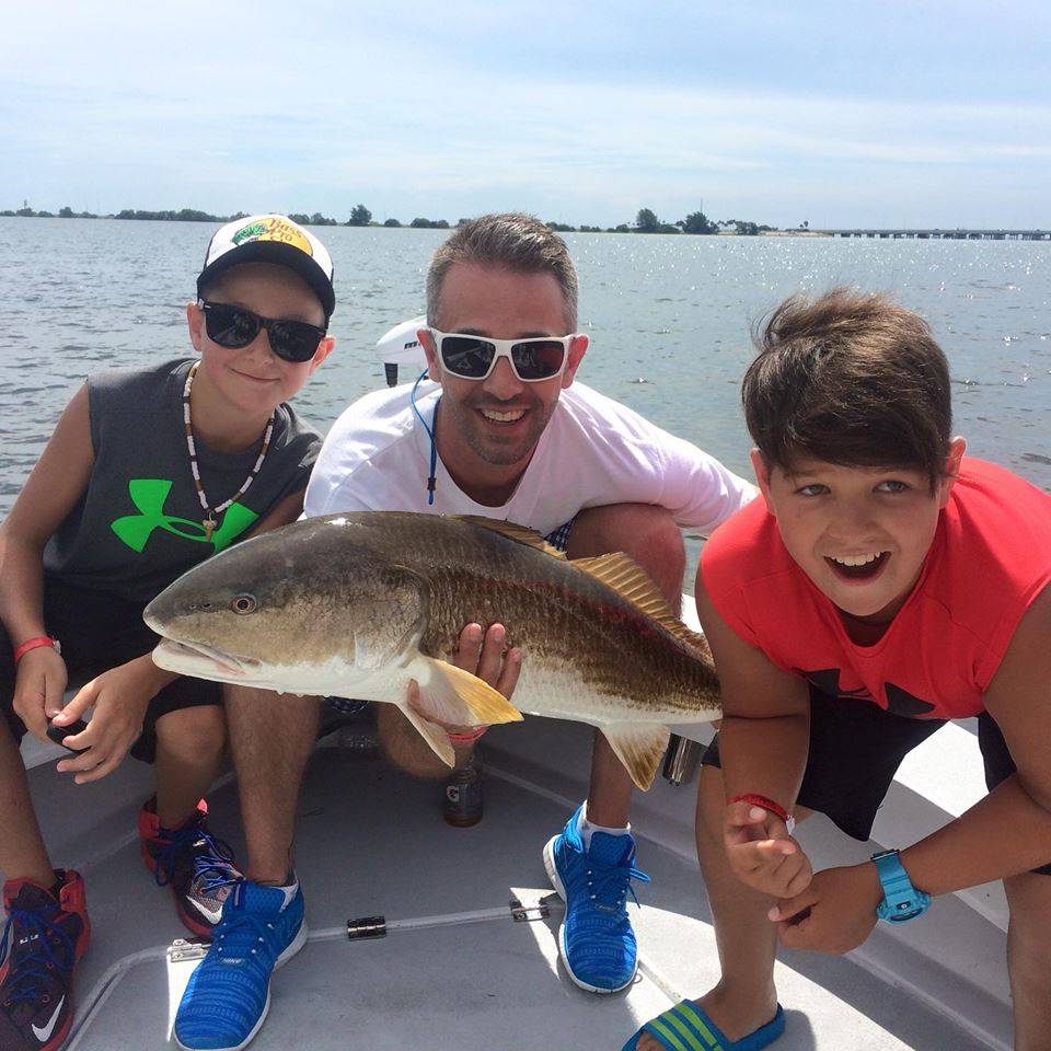 Tampa bay redfish mayhem fishing charters st pete beach for Tampa bay fishing guides