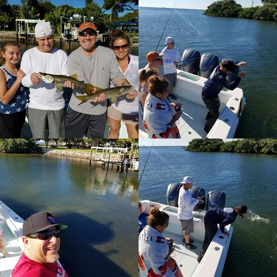 Tampa bay charity fishing for kids fishing charters st for Tampa bay fishing guides