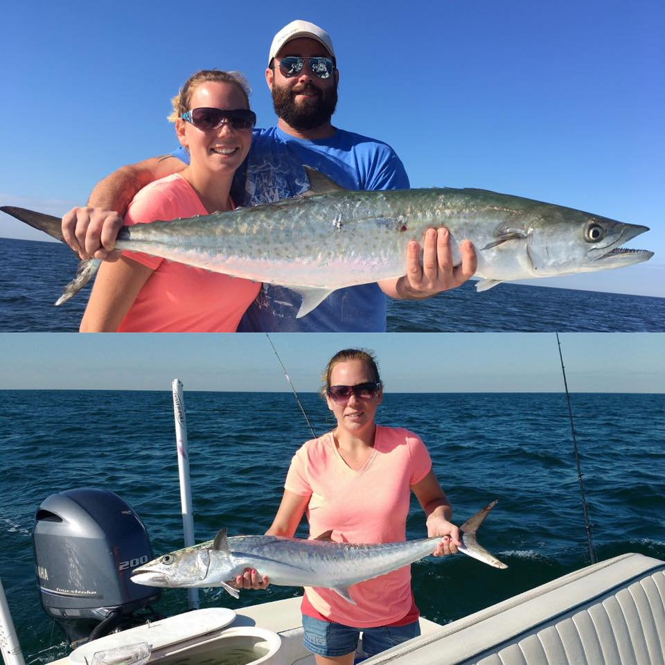 Tampa bay kingfishing fishing charters st pete beach for What time will the fish bite today