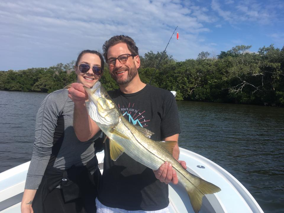 Tampa bay inshore snook and trout fishing fishing for Tampa florida fishing charters