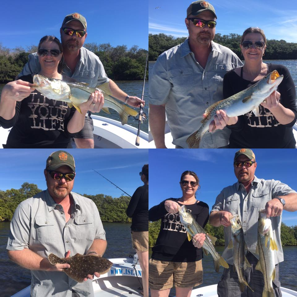 Tampa bay inshore snook trout and flounder fishing for Tampa bay fishing outfitters