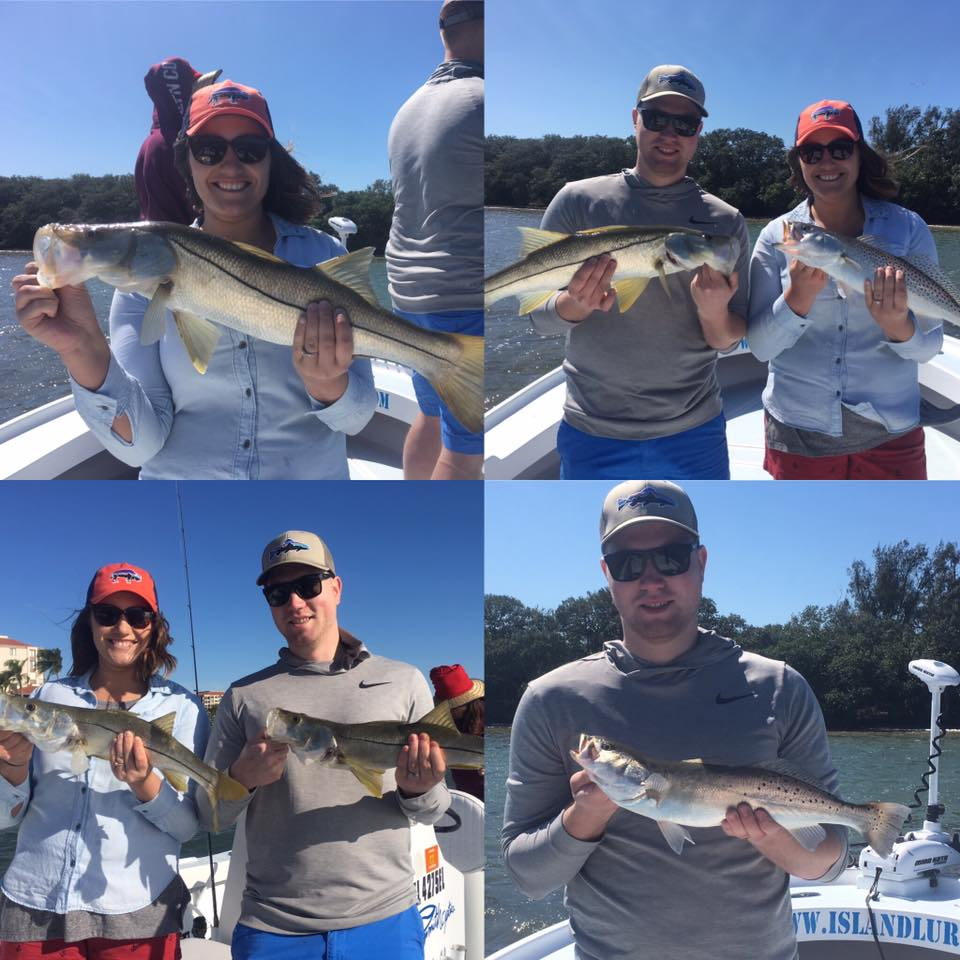 Tampa bay snook and trout fishing fishing charters st for Tampa bay fishing guides
