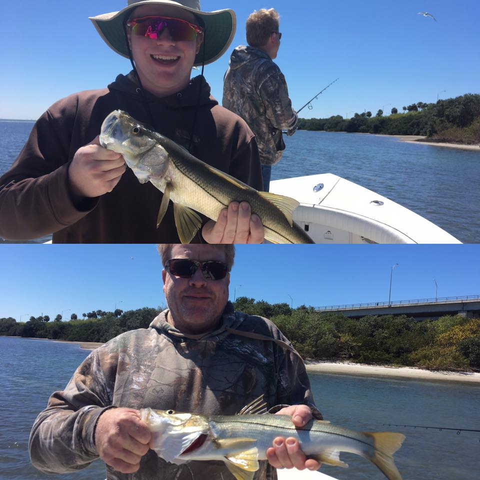 Tampa bay snook fishing fishing charters st pete beach for St petersburg fishing charters