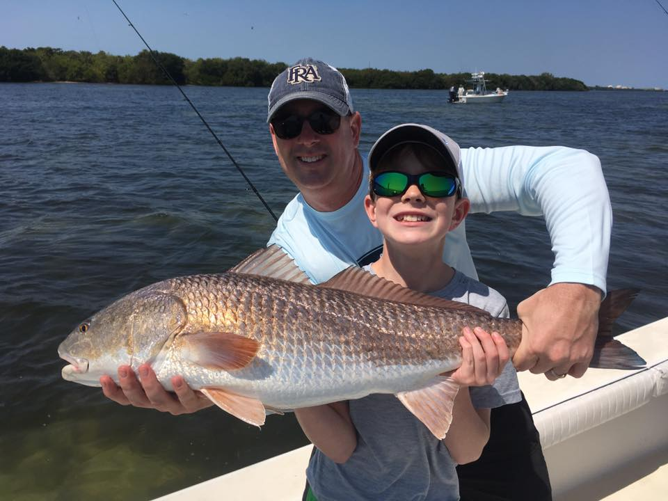 Tampa bay redfish snook and trout fishing charters st for Tampa bay fishing guides