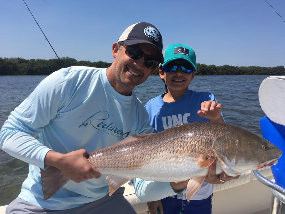 Tampa bay redfish snook and trout fishing charters st for Best fishing charters in florida