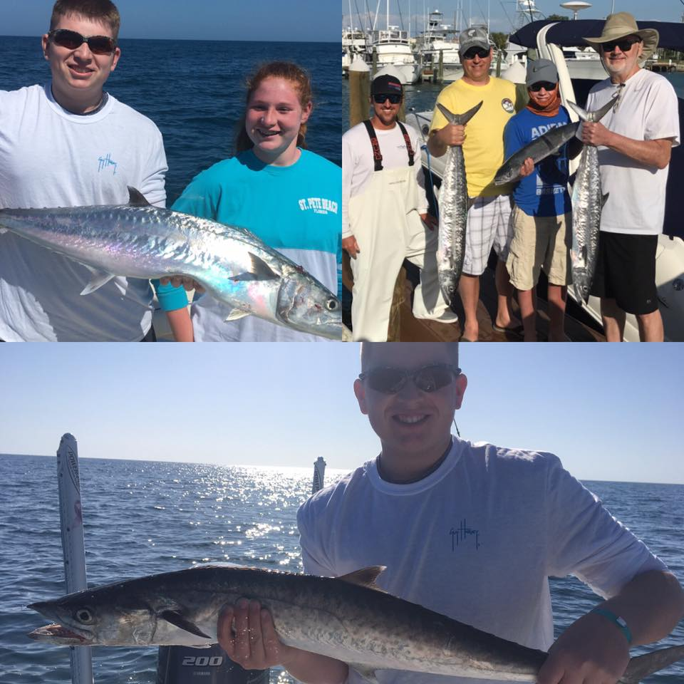 Offshore tampa st pete fish reports fishing charters st for Sport fishing report