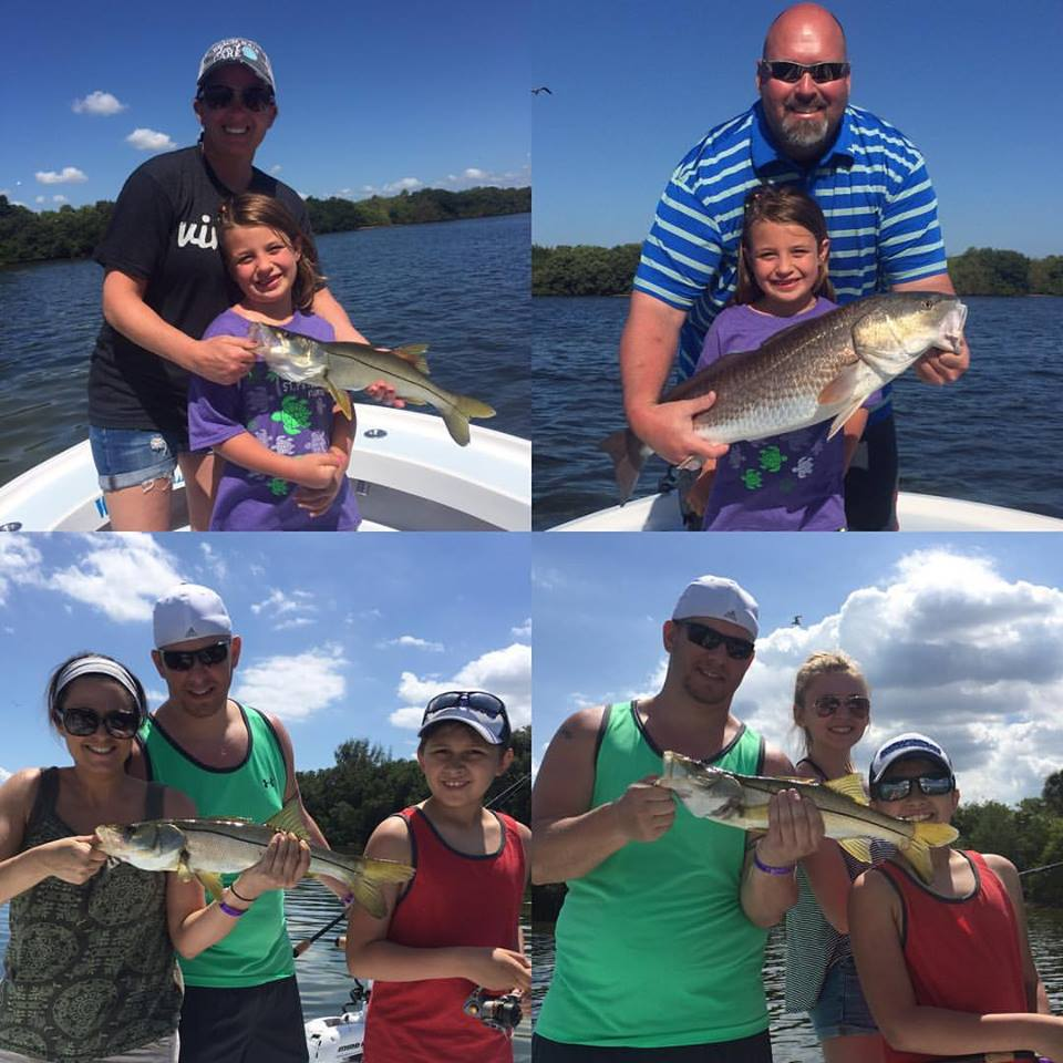 Tampa bay snook and redfish fishing charters st pete for Tampa bay fishing guides