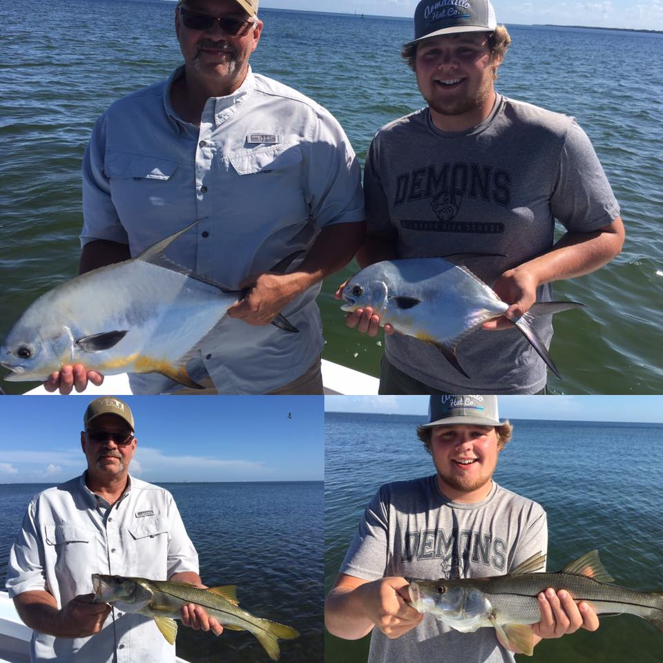 Tampa bay inshore snook and permit fishing fishing for Tampa florida fishing charters