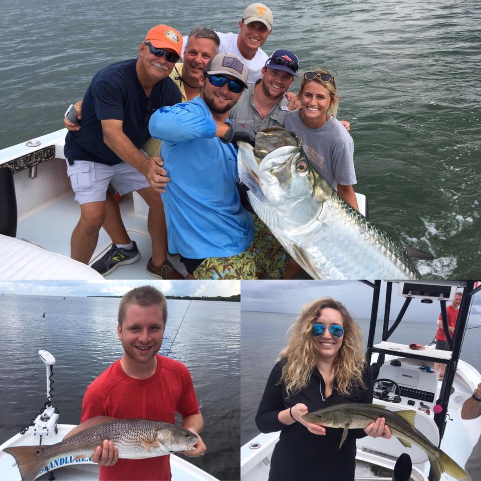 Tampa bay inshore snook redfish and tarpon fishing for Tarpon fishing tampa